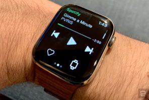 Spotify овозможи стриминг на музика на Apple Watch
