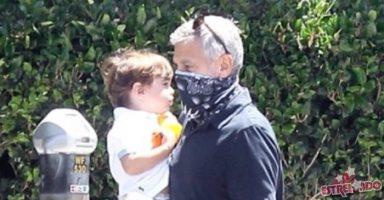 Џорџ Клуни исплашен за здравјето на неговиот син