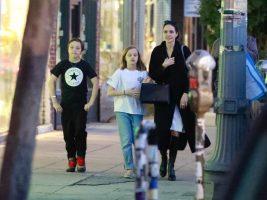 Анџелина Џоли исплашена за своите деца