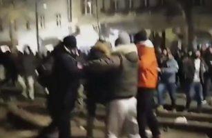(Видео) Инцидент на собирот во чест на Џеј