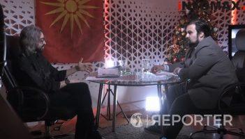 (Видео) Снимателот на колена кон Димитар Апасиев