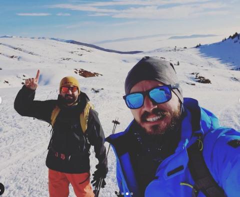(Видео) Тони Зен скијаше на Шапка