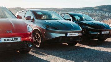 Во Норвешка пристигнаа првите кинески автомобили на струја (ВИДЕО)