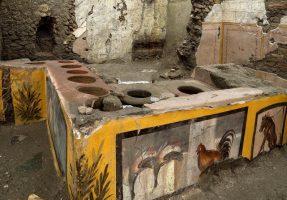 Во Помпеја откриен древен ресторан за брза храна (ВИДЕО)