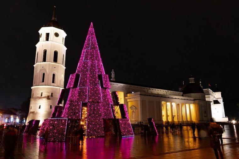 Елка во Литванија втора година по ред е избрана за најубава во Европа