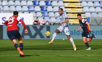Интер одговорија со тешка победа на Сардинија