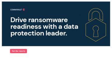 """Компанијата """"Commvault"""" овозможува заштита на компаниите од """"ransomware"""" нападите"""