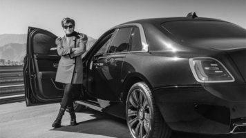 Крис Џенер прва го вози новиот Rolls-Royce Ghost во Америка