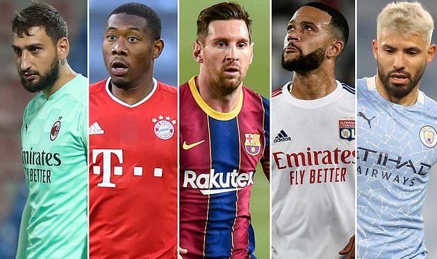 Меси, Рамос, Агуеро, Алаба…наредната година ќе бидат слободни играчи