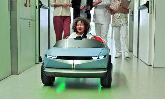 Мини електромобил на Hyundai ќе лекува деца (ВИДЕО)