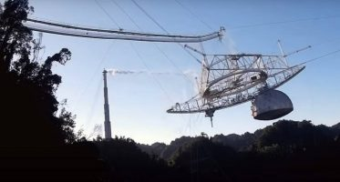 Моментот кога се урна огромниот телескоп Аресибо (ВИДЕО)