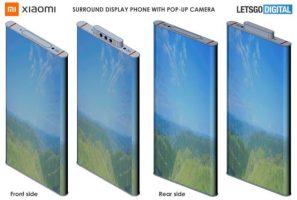 Патент на Xiaomi открива телефон со свиткувачки екран и pop-up камери
