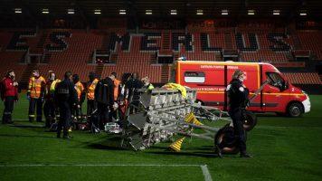 Рефлектор усмрти човек на стадионот во Лориен