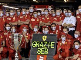Фетел со песна се збогуваше со Ферари, но призна дека се надева дека бргу ќе ја заборави 2020
