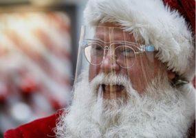 (Фото) Годинава на дистанца ѝ со Дедо Мраз