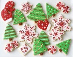Шарени новогодишни колачи - Reporter.mk