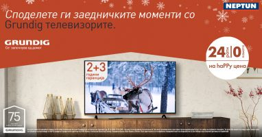 75 години инспирација во секој дом - Grundig телевизори