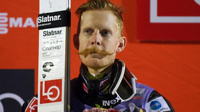Јохансон до победа во Лахти, Гранеруд падна при поставувањето на рекордот на скокалницата