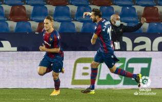 Барди заигра по три месеци, Леванте со 2:2 реми против Валјадолид