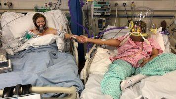 Британка починала од коронавирус во болница, лежејќи покрај ќерка ѝ