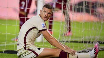 Во Рома продолжуваат проблемите – Џеко тренира сам!