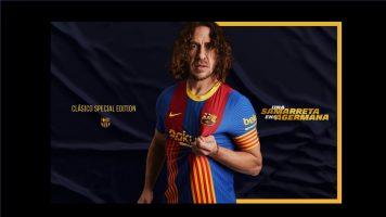 Дресот на Барса за дуелот со Реал