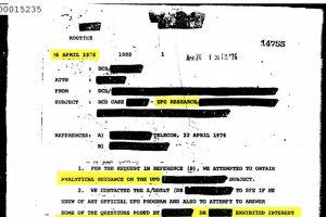 Илјадници документи на ЦИА поврзани со НЛО станаа достапни
