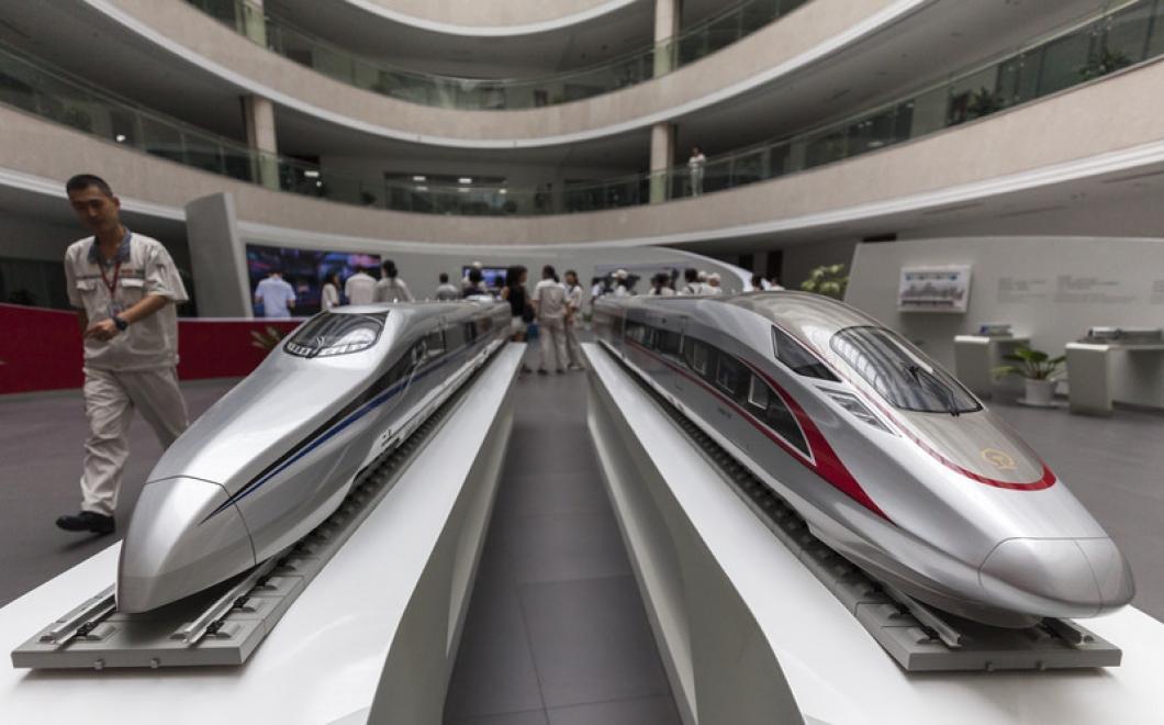 """Кина претстави супербрз воз кој """"лета"""" со 620 километри на час (ВИДЕО)"""