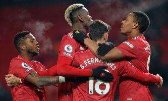 Манчестер јунајтед се израмнија со Ливерпул на челната позиција во Премиер лигата
