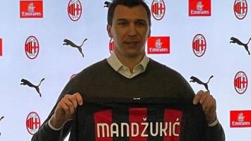 Марио Манџукиќ е нов играч на Милан