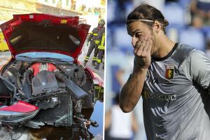 На соиграч на Пандев му го уништија Ферарито во перална за автомобили!