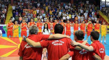 Одбојкарите обезбедија пласман на Европското првенство