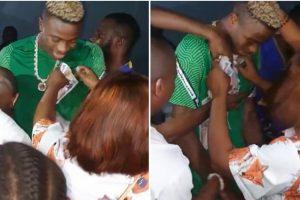 """Осимен се """"журкал"""" во Нигерија, се вратил во Неапол со позитивен тест"""