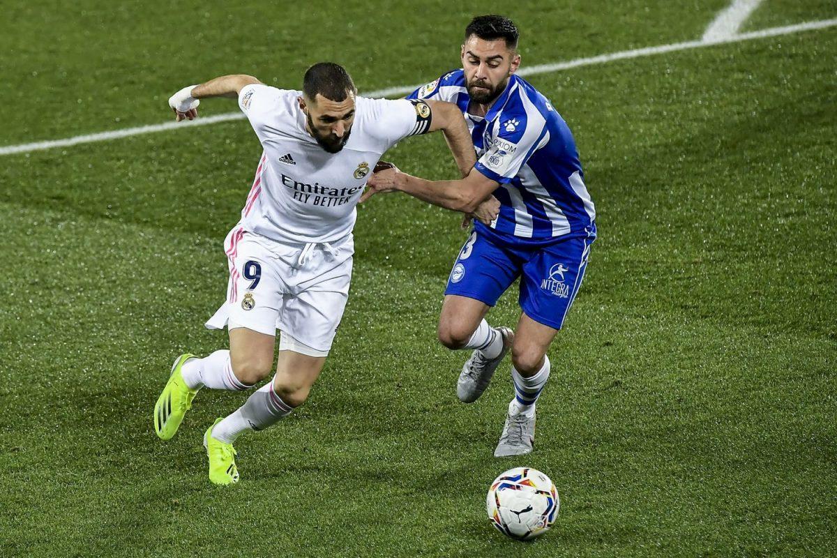 Реал со четири гола го торпедираше Алавес