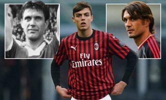 Семејството Малдини го запиша 1.000 настап за Милан
