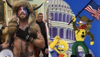 Симпсонови го предвидоа и нападот на америкаскиот Конгрес