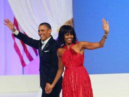(Фото) Мишел го изненади Барак Обама со уметничко дело за Божиќ