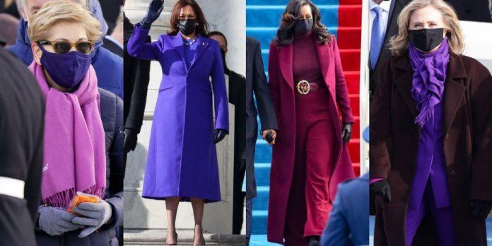 (Фото) Трите највлијателни дами во Америка избраа да носат виолетово заради нејзиното значење