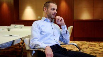 Чеферин: Супер е што на ЕП ќе игра и Македонија