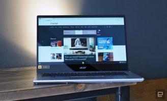 Acer го претстави својот прв Chromebook со најновите AMD Ryzen процесори
