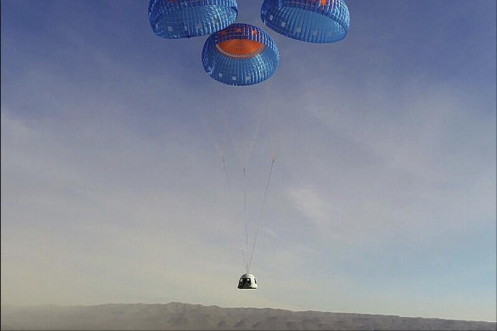 Blue Origin успешно ја тестираше подобрената капсула за патувања во вселената