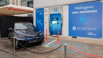 Мадрид ја доби својата прва станица за точење водород