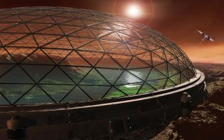 Првиот град на МАРС до 2050 година - Живот во стаклени кугли