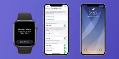 iPhone ќе може да се отклучи со Apple Watch додека корисникот носи маска (ВИДЕО)
