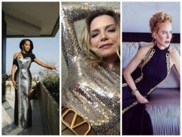 """(Галерија) Гламур и висока мода од дома на доделувањето """"Златен глобус"""""""