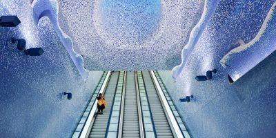 Најубавите метроа во Европа се големи уметнички галерии