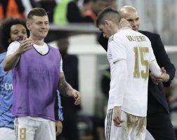 Маките на Зидан пред дуелите со Ливерпул и Барселона
