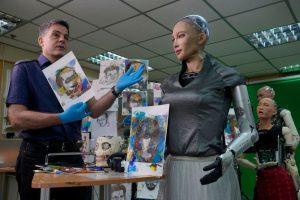 Уметничко дело на роботот Софија е продадено за 688.000 долари