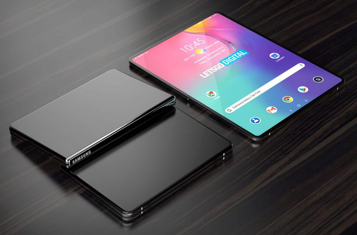 Samsung ќе го примени концептот на флексибилен дисплеј и кај таблет уредите