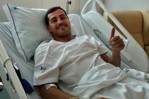Касилјас повторно во болница поради проблеми со срцето